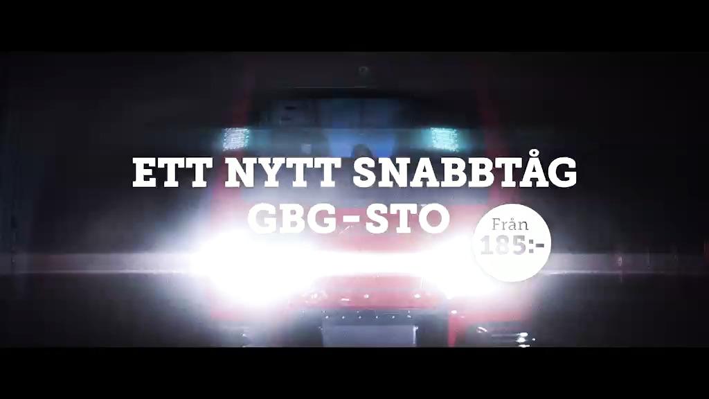 Äntligen! Ett nytt snabbtåg mellan Stockholm och Göteborg