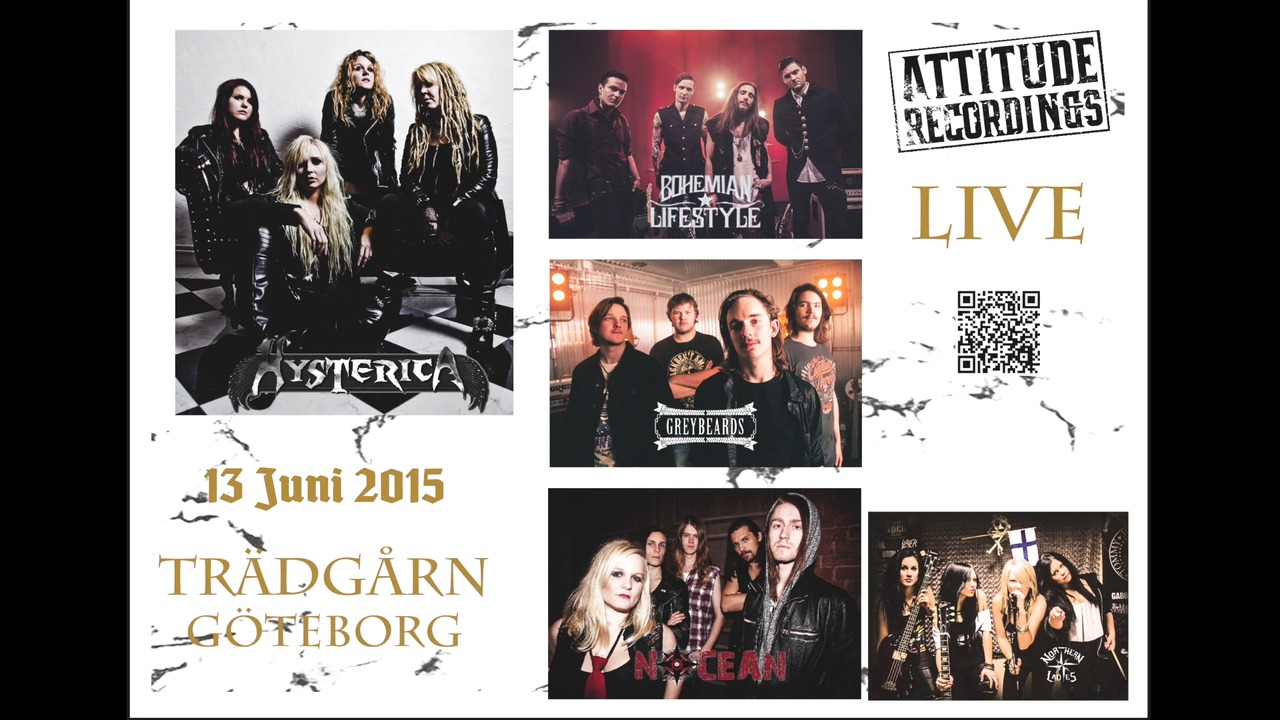 ATTITUDE ROCK FEST Gothenburg