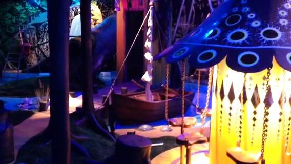 En liten tjuvtitt på Muminutställningen på Junibacken