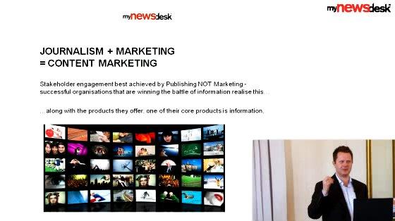 Mynewsdesk News Exchange Site om Content Marketing ved Jonathan Bean