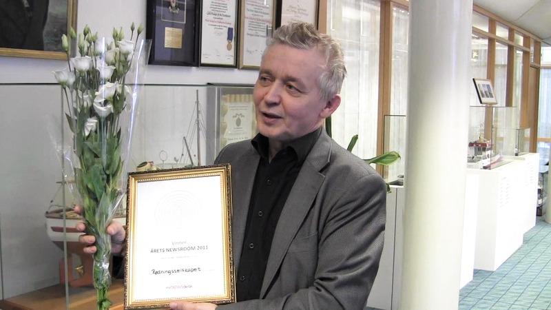 Årets Newsroom 2011 - Redningsselskapet