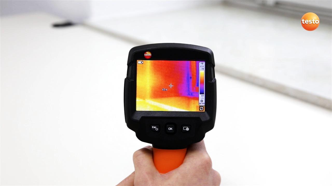 Så fungerar värmekameran Testo 870