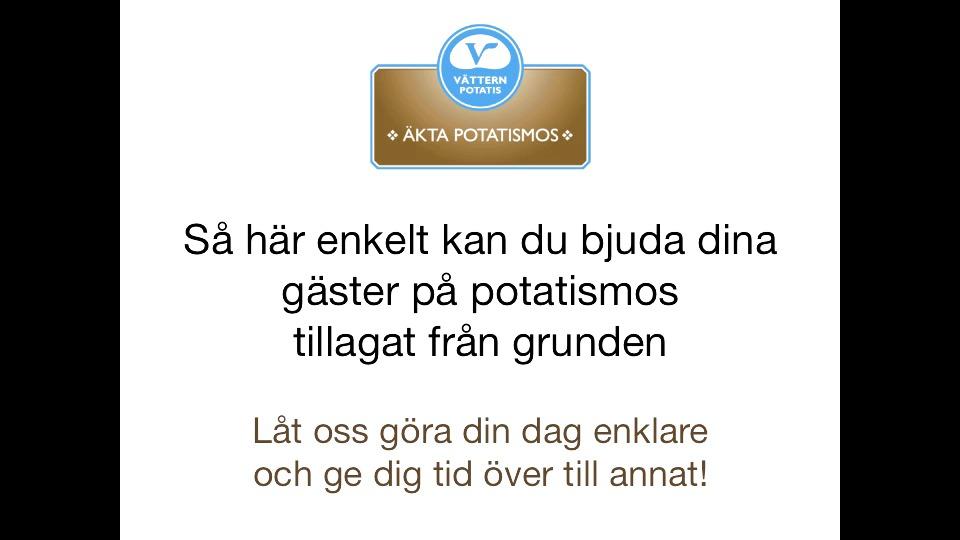 Se så enkelt du kan bjuda dina gäster på potatismos tillagat från grunden