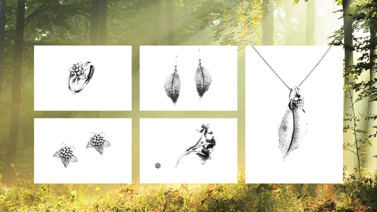 Oppdag den nye smykkekolleksjonen til Huldresølv - LYSNING