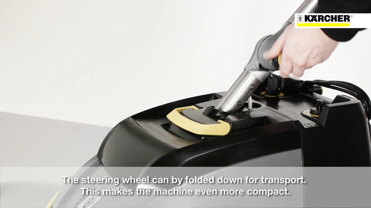 Kärcher gulvvaskemaskin BR 35/12 C - Produktinformasjon