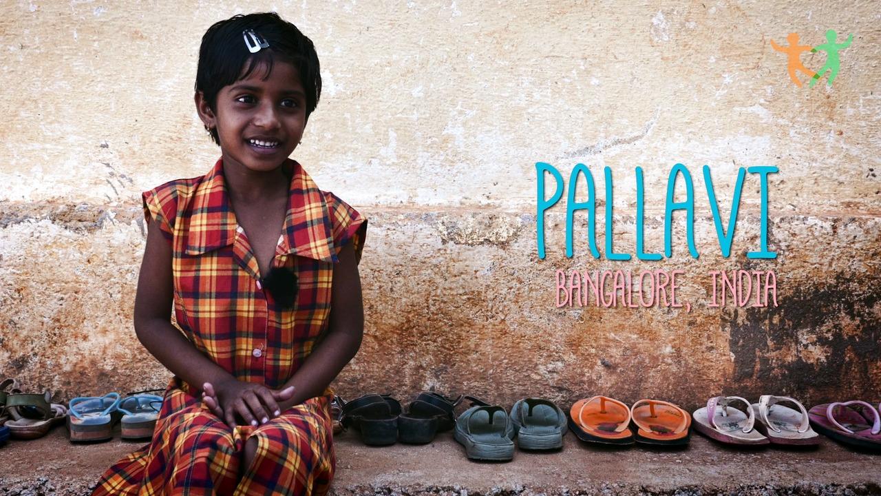 Pallavi 6 år drömmer om att bli dansare