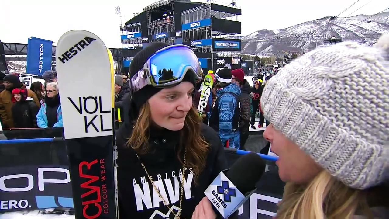 Emma Dahlstöm Winter X Games Aspen 2015