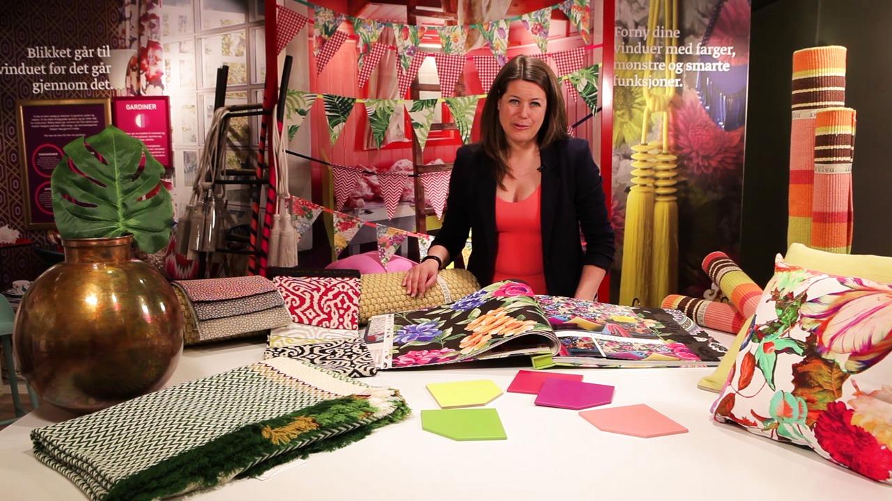 """Fargerike presenterer sommerens trender. Her får du vite mer om trenden """"Frodig paradis"""" av Fargerikes kreative leder, Tale Olivia Henningsen."""