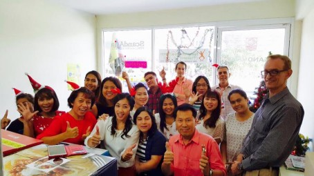 Scand-Media staff celebrates year end with a profit