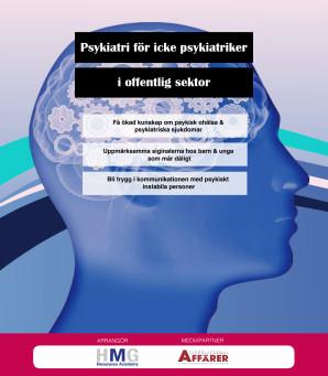 Psykiatri för icke psykiatriker i offentlig sektor