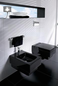 memento svart wc och bid villeroy boch gustavsberg. Black Bedroom Furniture Sets. Home Design Ideas
