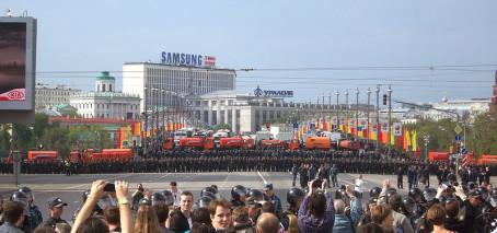 Demokratistödet till Ryssland upp i riksdagen