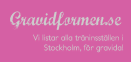 Go to Gravidformen.se's Newsroom