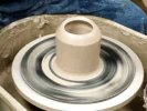 Potter's Wheel Surface Texture Demo, Lakeside Pottery Ceramic School & Studio, Stamford, CT