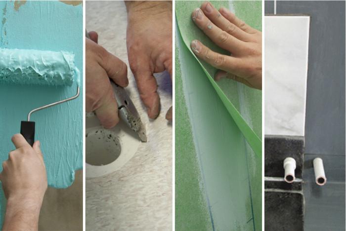 Badrumsrenovering checklista hantverkare