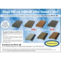 Ny annons för trall och fasadpanel i träkomposit