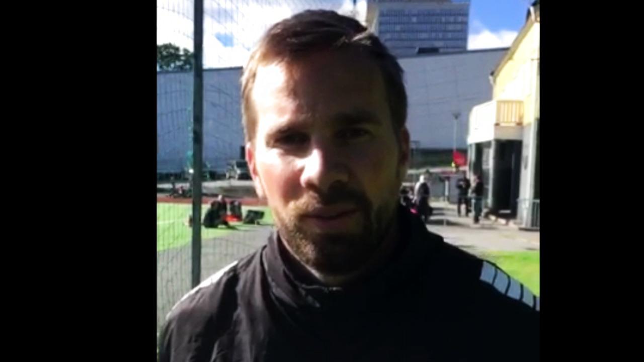 Huvudtränare Pär Lagerströms tankar inför hemmamatchen Hammarby - Rosengård