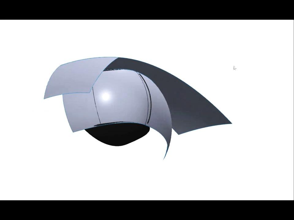 3D/CAD-modellering av båtlanterna