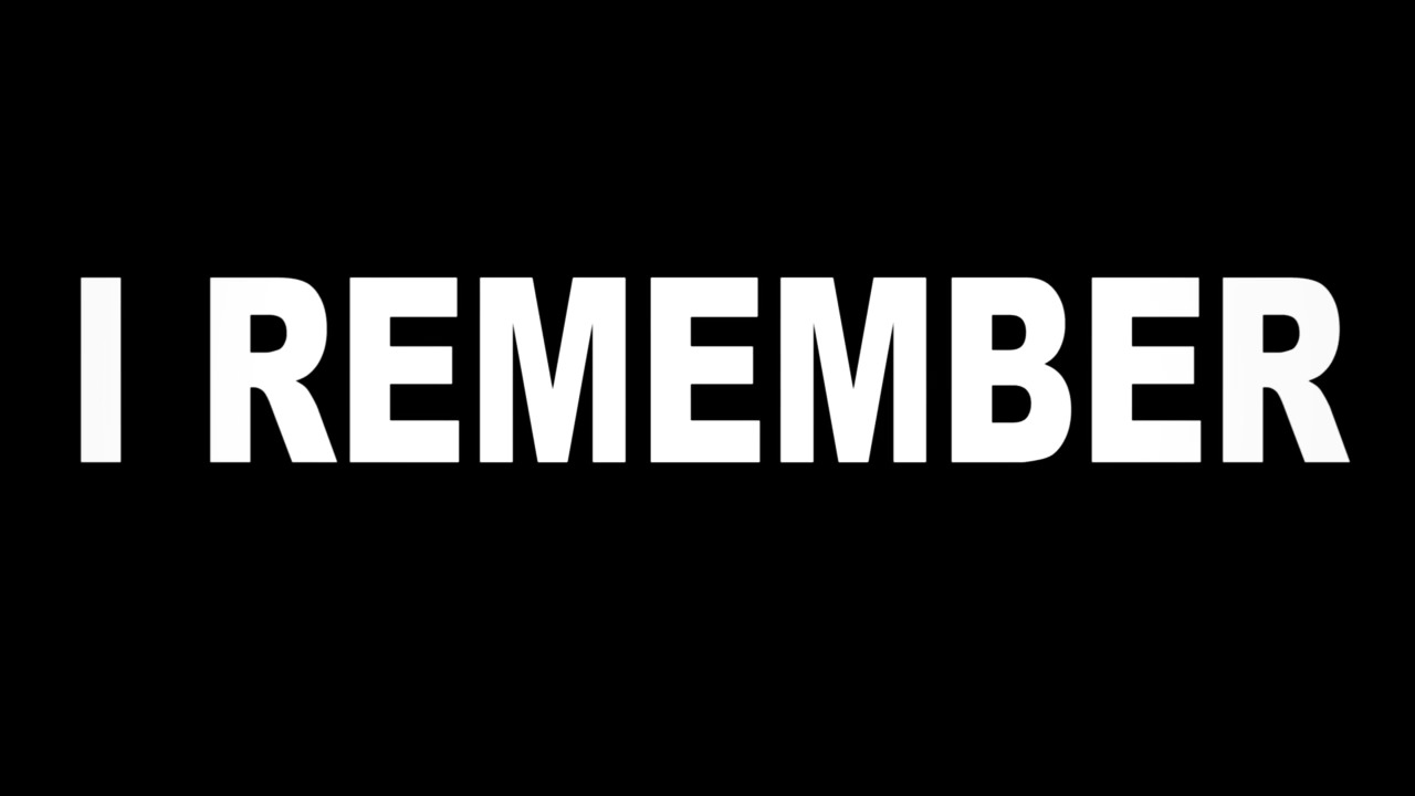 I remember - trailer