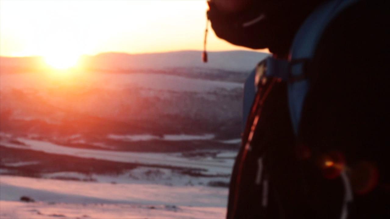 Hemavan Riktiga Fjäll - December skiing