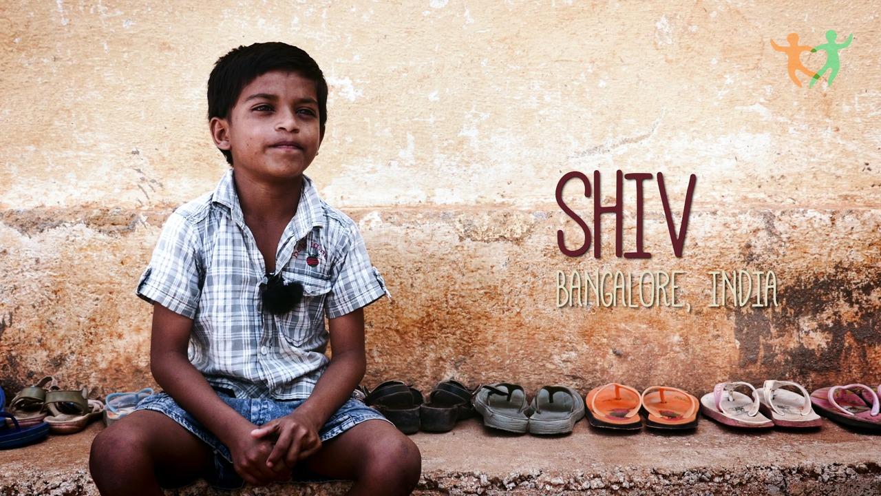 Shiv 6 år drömmer om att bli polis