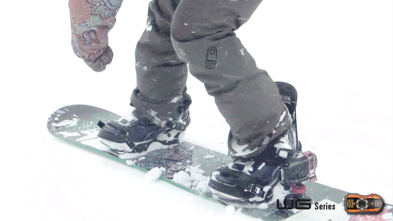 Ricoh tilbehør til action til WG-modeller (snowboard)