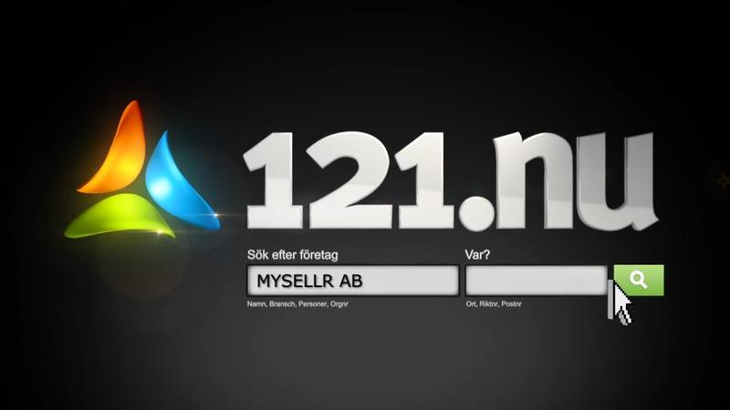121.nu med rikstäckande TV-reklam