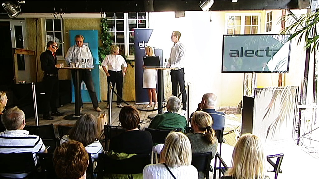 Alectas almedalsseminarium som film