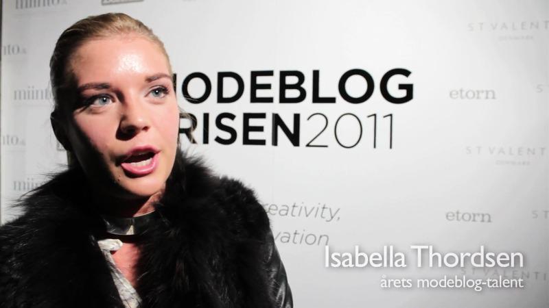 Modeblogprisen 2011