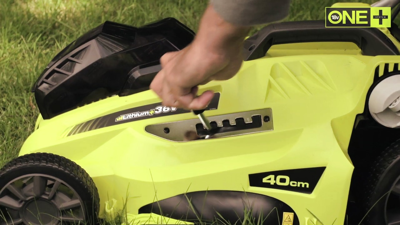 Ryobi One+ video