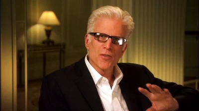 Ted Danson; 'Universal I love driving to work everyday and know that I know it's your hundred anniversary, it's going to make it even more special. Congratulations!''