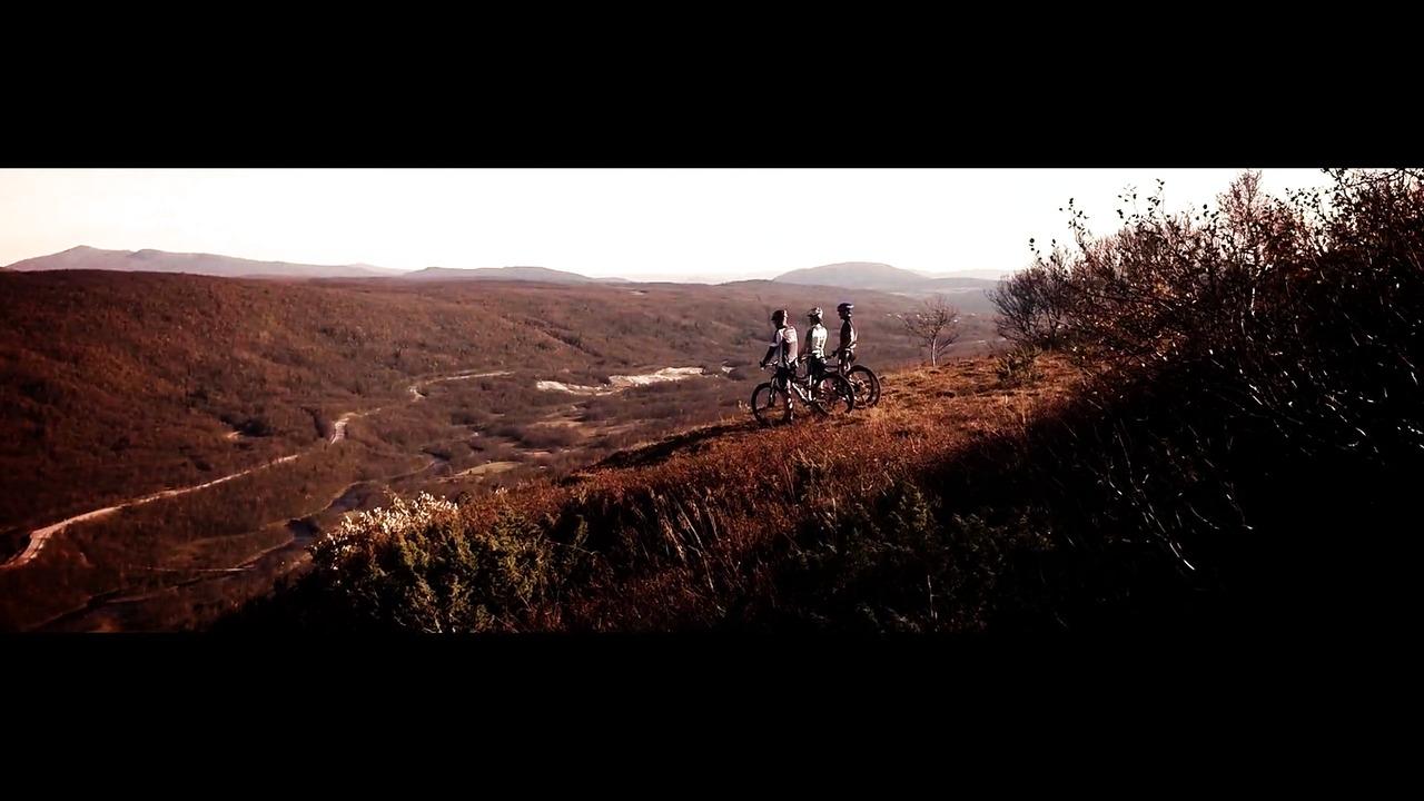 Till fjälls på cykel