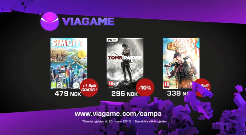 Viagame March TV commercial