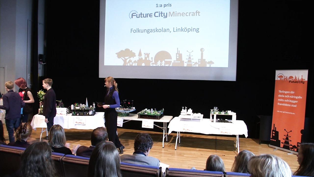 Prisutdelning 2015: Future City Minecraft