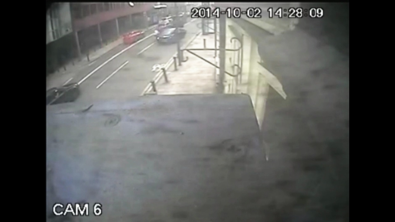 Footage of the incident 2