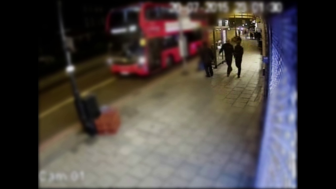 CCTV footage of the men police are keen to identify