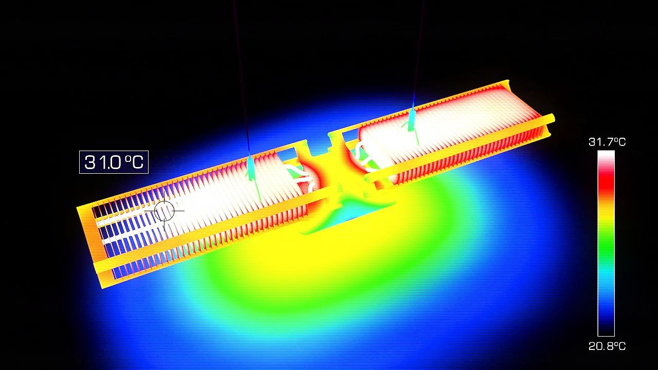 Ariel - LED-armatur som lyser i mer än 37 år.
