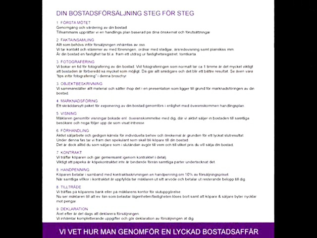 Företagspresentation - Ansvar Fastighetsförmedling