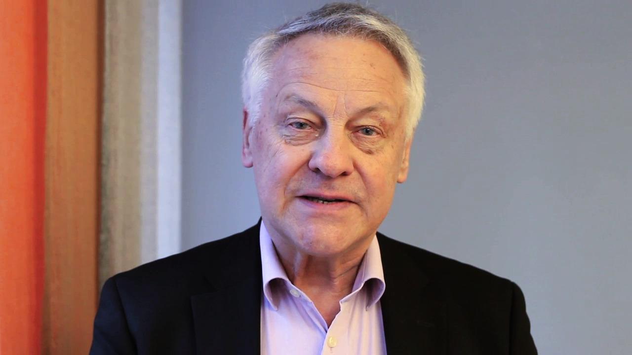 Bengt Lindqvist och Bengt Westerbergs tack efter att ha fått Riksförbundet FUB:s hederspris 2014