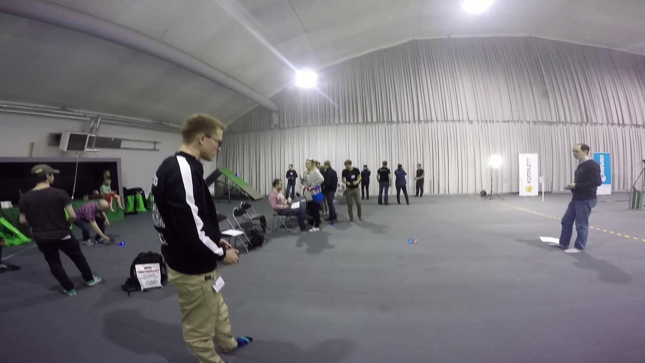 SM i Multikopter 2015 - övning inför tävlingen