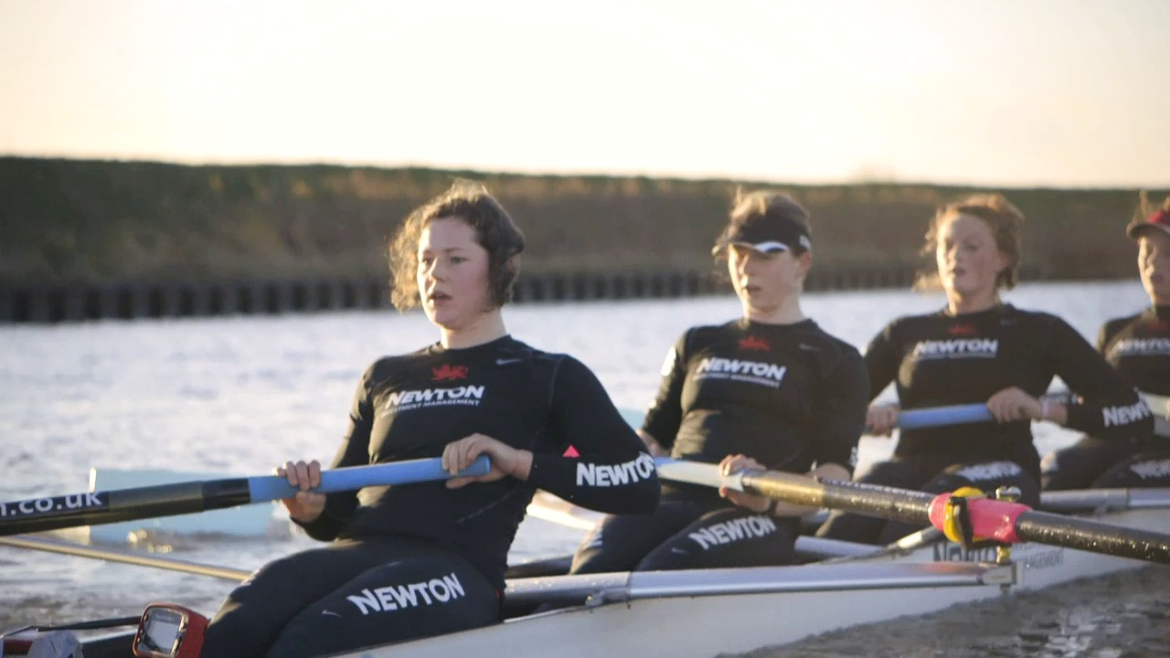 Newton Women's Boat Race 2014: Teamwork