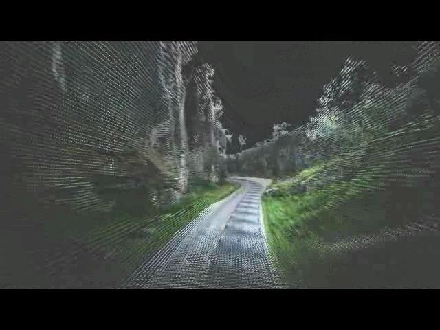 Cheddar valley scannat med Topcon IP-S2
