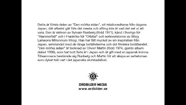 Den mörka sidan 1  av Sylvain Runberg & Olivier Martin - Smakprov ( Boktrailer)