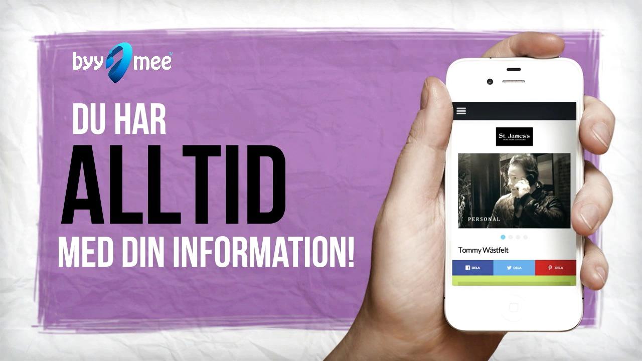 Skapa ditt eget mobila visitkort - e-plattformen som spås en lysande framtid!