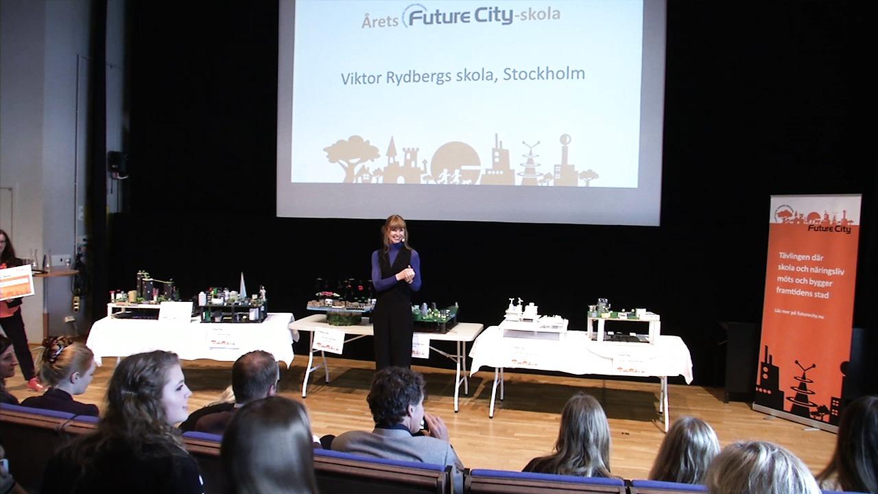 Prisutdelning 2015: Årets Future City-skola