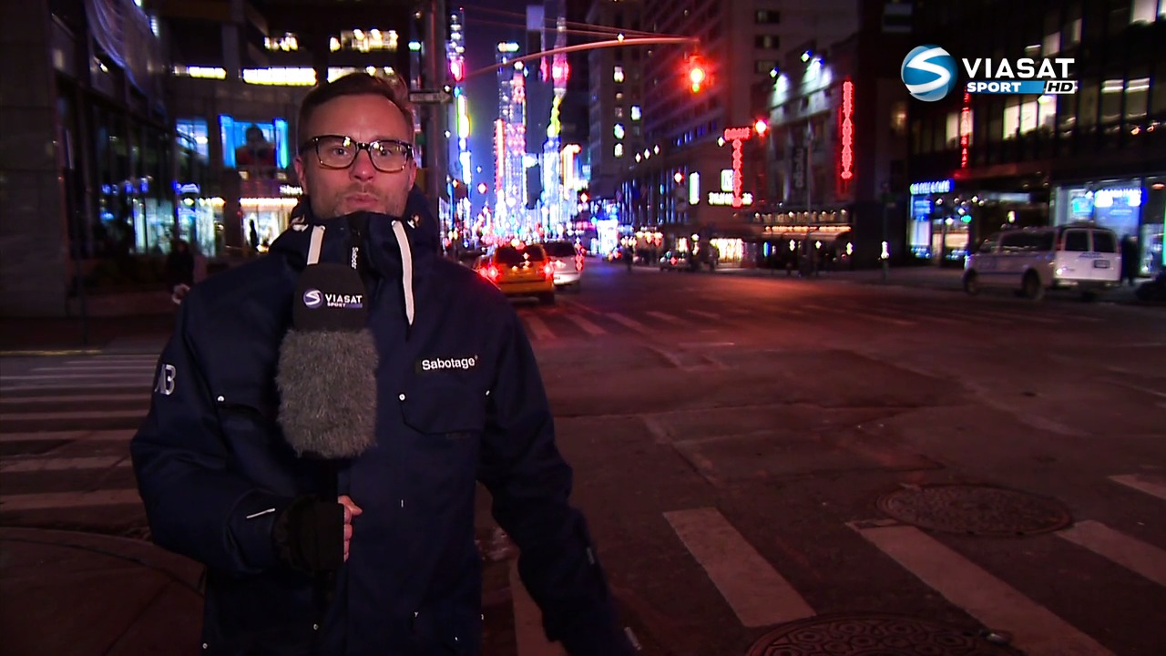 Christian Ramberg på plass i New York
