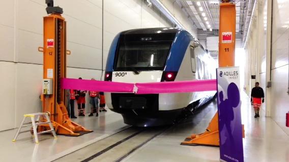 Motala Trains invigning av den nya verkstaden i Västerås