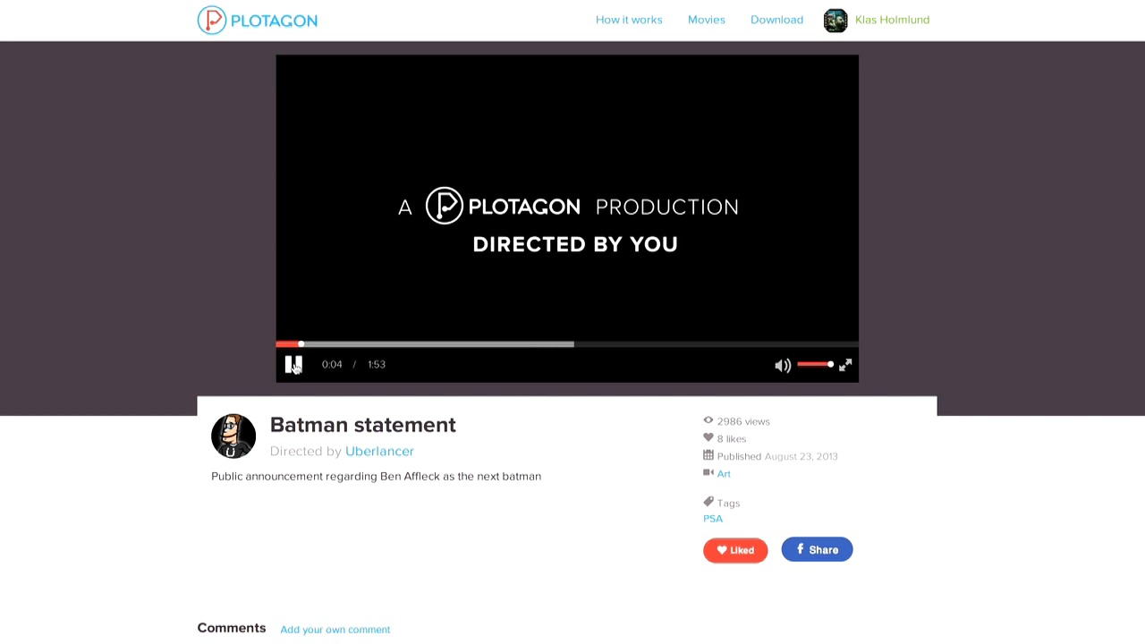 Plotagon - directed by you