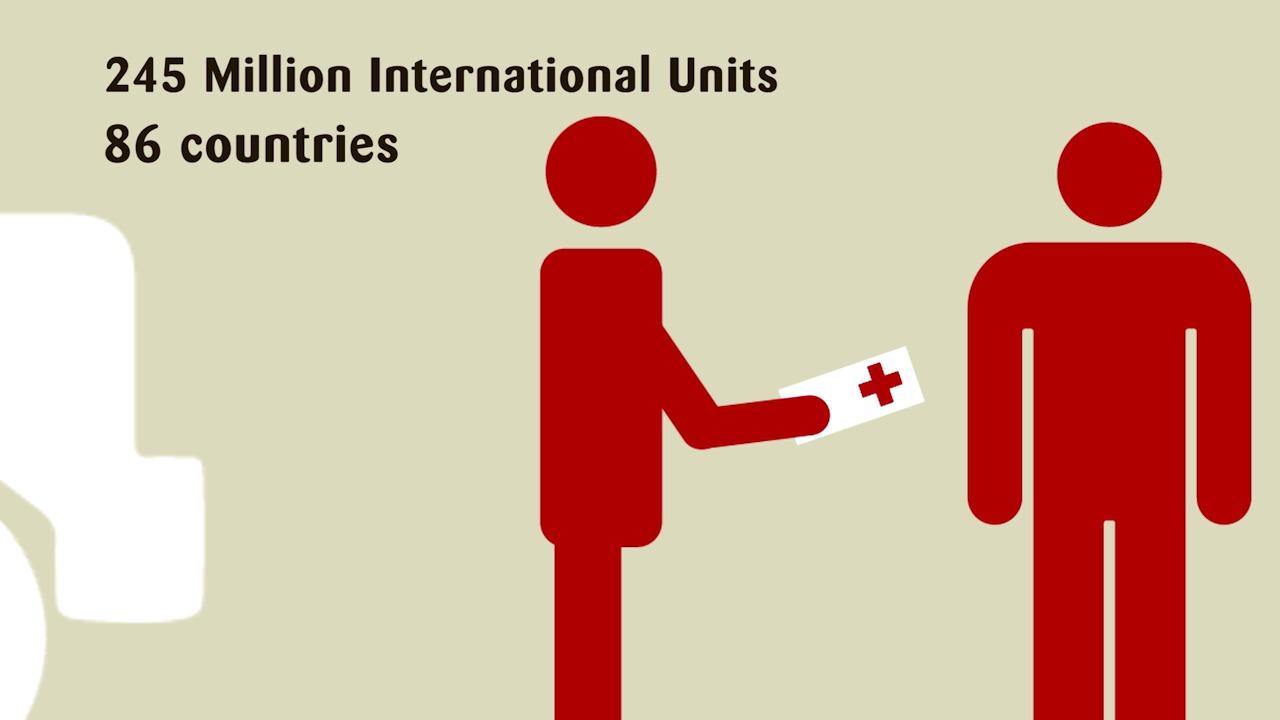 Biogen Idec och Sobi donerar en miljard internationella enheter koagulationsfaktor för att stödja behandlingen av hemofili i utvecklingsländer