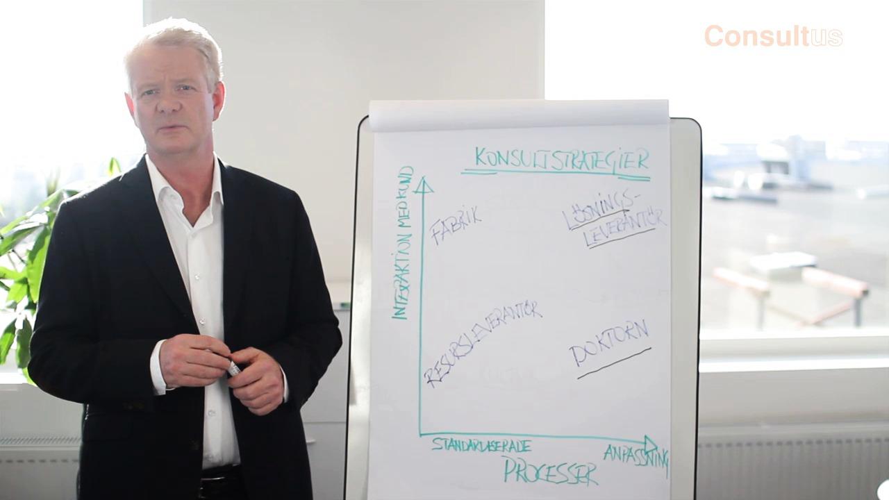 Berny Einarsson presenterar Consultus